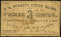 Obsoletes By State:New Hampshire, Manchester, NH- C.M. Putney 3¢ Jan. 1, 1863. ...