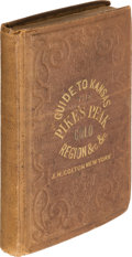 Books:Travels & Voyages, James Redpath, and Richard J. Hinton. Hand-Book to KansasTerritory and the Rocky Mountains' Gold Region;Accompan...