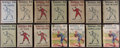 "Baseball Collectibles:Others, 1910's-1920's ""Baseball Joe"" Complete Run (14) - A Few With DustJackets. ..."