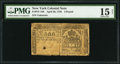 Colonial Notes:New York, New York April 20, 1756 £3 PMG Choice Fine 15 Net.. ...