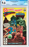 Modern Age (1980-Present):Superhero, DC Comics Presents #47 Superman and Masters of the Universe (DC,1982) CGC NM+ 9.6 Off-white to white pages....