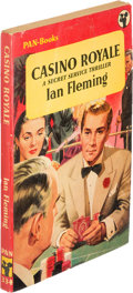 Books:Mystery & Detective Fiction, [James Bond]. Ian Fleming. Casino Royale. London: [1953]. First paperback edition....