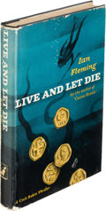Books:Mystery & Detective Fiction, [James Bond]. Ian Fleming. Live and Let Die. New York: 1955.First U. S. edition....