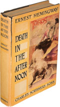 Books:Literature 1900-up, Ernest Hemingway. Death in the Afternoon. New York: 1932.First edition. ...