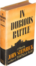 Books:Literature 1900-up, John Steinbeck. In Dubious Battle. New York: 1936. Firstedition....