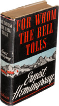Books:Literature 1900-up, Ernest Hemingway. For Whom the Bell Tolls. New York: 1940.First edition. ...