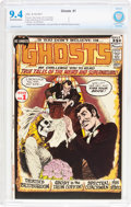 Bronze Age (1970-1979):Horror, Ghosts #1 (DC, 1971) CBCS NM 9.4 Off-white to white pages....