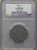 Large Cents, 1804 1C S-266b, B-1, R.2 -- Corroded -- NCS. VF Details....
