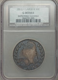 1812/1 50C Large 8, O-101a, R.5 -- Improperly Cleaned -- NCS. Good Details....(PCGS# 39442)