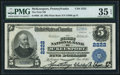 National Bank Notes:Pennsylvania, McKeesport, PA - $5 1902 Plain Back Fr. 605 The First NB Ch. #2222. ...