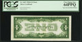 Error Notes:Inverted Reverses, Fr. 1601 $1 1928A Inverted Reverse Silver Certificate. PCGS VeryChoice New 64PPQ.. ...