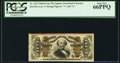 Fractional Currency:Third Issue, Fr. 1325 50¢ Third Issue Spinner PCGS Gem New 66PPQ.. ...