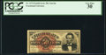 Fractional Currency:Fourth Issue, Fr. 1374 50¢ Fourth Issue Lincoln PCGS Very Fine 30.. ...