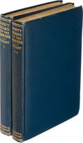 Books:Biography & Memoir, [Granville Stuart]. Paul C. Phillips (editor). Forty Years onthe Frontier... Cleveland: 1925. First edition.... (Total: 2Items)