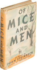 Books:Literature 1900-up, John Steinbeck. Of Mice and Men. New York: [1937]. ...