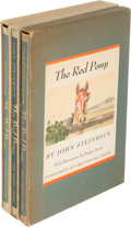 Books:Literature 1900-up, John Steinbeck. Three Copies of The Red Pony. New York:1945. First illustrated editions ... (Total: 3 Items)