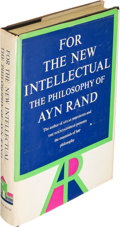 Books:Philosophy, Ayn Rand. For the New Intellectual. New York: [1961]. Firstprinting, signed....