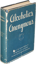Books:Americana & American History, [Alcoholics Anonymous]. [Bill Wilson]. Alcoholics Anonymous.New York City: 1955. Second edition....