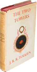 Books:Science Fiction & Fantasy, J. R. R. Tolkien. The Two Towers. London: 1954. Firstedition....
