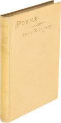 Books:Literature Pre-1900, Emily Dickinson. Poems. London: 1891. First Englishedition....