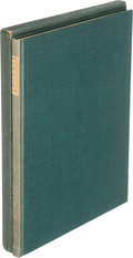 Books:Literature 1900-up, [Grabhorn Press]. [Ansel Adams]. Robinson Jeffers. Poems.San Francisco: 1928. First edition, limited, signed....