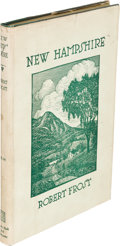 Books:Literature 1900-up, Robert Frost. New Hampshire. New York: 1923. Firstedition....