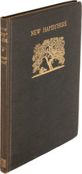 Books:Literature 1900-up, Robert Frost. New Hampshire. New York: 1923. Limited,signed....