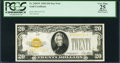 Small Size:Gold Certificates, Fr. 2402* $20 1928 Gold Certificate. PCGS Apparent Very Fine 25.. ...