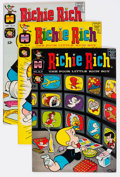Silver Age (1956-1969):Humor, Richie Rich File Copies Group of 79 (Harvey, 1965-69) Condition: Average NM-.... (Total: 79 Comic Books)