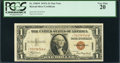 Small Size:World War II Emergency Notes, Fr. 2300* $1 1935A Hawaii Silver Certificate. PCGS Very Fine 20.. ...