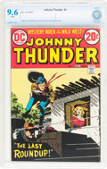 Bronze Age (1970-1979):Western, Johnny Thunder #1 (DC, 1973) CBCS NM+ 9.6 White pages....
