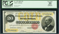 Large Size:Gold Certificates, Fr. 1178 $20 1882 Gold Certificate PCGS Apparent Very Fine 35.. ...