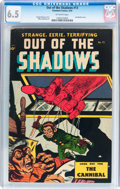 Golden Age (1938-1955):Horror, Out Of The Shadows #13 (Standard, 1954) CGC FN+ 6.5 Off-whitepages....
