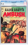 Golden Age (1938-1955):Western, Four Color #314 Zane Grey's Ambush - Mile High Pedigree (Dell,1951) CGC NM+ 9.6 White pages....