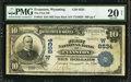 National Bank Notes:Wyoming, Evanston, WY - $10 1902 Date Back Fr. 618 The First NB Ch. # (W)8534. ...