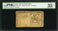 Colonial Notes:New York, New York March 25, 1755 £10 PMG Choice Very Fine 35 Net.. ...