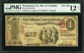 National Bank Notes:District of Columbia, Washington City, DC - $1 Original Fr. 382a The Citizens NB Ch. # 1893. ...