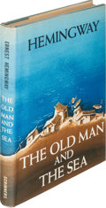Books:Literature 1900-up, Ernest Hemingway. The Old Man and the Sea. New York: CharlesScribner's Sons, 1952. First edition....
