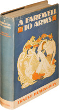 Books:Literature 1900-up, Ernest Hemingway. A Farewell to Arms. New York: CharlesScribner's Sons, 1929. First edition. ...