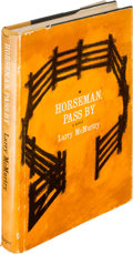 Books:Literature 1900-up, Larry McMurtry. Horseman, Pass By. New York: Harper &Brothers, [1961]. First edition. Association copy with signe...