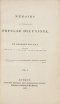 Books:Metaphysical & Occult, Charles Mackay. Memoirs of Extraordinary Popular Delusions.London: Richard Bentley, 1841. First edition.... (Total: 3 Items)