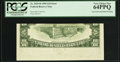 Error Notes:Inverted Reverses, Fr. 2029-B $10 1990 Federal Reserve Note. PCGS Very Choice New64PPQ.. ...