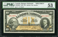 Canadian Currency: , Quebec City, QC- La Banque Nationale $10 November 2, 1922 Ch. #510-22-04S Specimen. ...