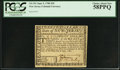 Colonial Notes:New Jersey, New Jersey June 9, 1780 $20 PCGS Choice About New 58PPQ.. ...