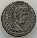 Ancients:Roman Provincial , Ancients: PISIDIA. Antioch. Septimius Severus (AD 193-211). AE 32mm (24.83 gm)....