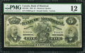 Canadian Currency: , Montreal, PQ- Bank of Montreal $5 Jan. 2, 1895 Ch. # 505-44-02. ...