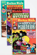 Bronze Age (1970-1979):Cartoon Character, Richie Rich Vault of Mystery File Copies Box Lot (Harvey, 1974-82)Condition: Average NM-....