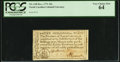 Colonial Notes:North Carolina, North Carolina December, 1771 10s PCGS Very Choice New 64.. ...