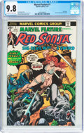 Bronze Age (1970-1979):Adventure, Marvel Feature #1 Red Sonja (Marvel, 1975) CGC NM/MT 9.8 Off-white to white pages....