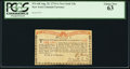 Colonial Notes:New York, New York August 25, 1774 (Water Works) 1s PCGS Choice New 63.. ...